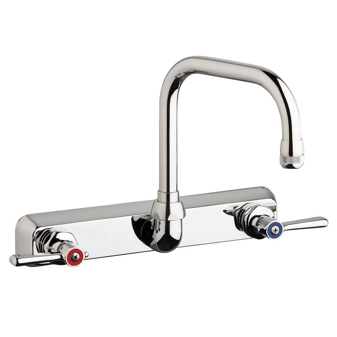 Chicago Commercial Wall Mount Kitchen Faucet